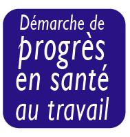 logo démarche de progrès en santé au travail